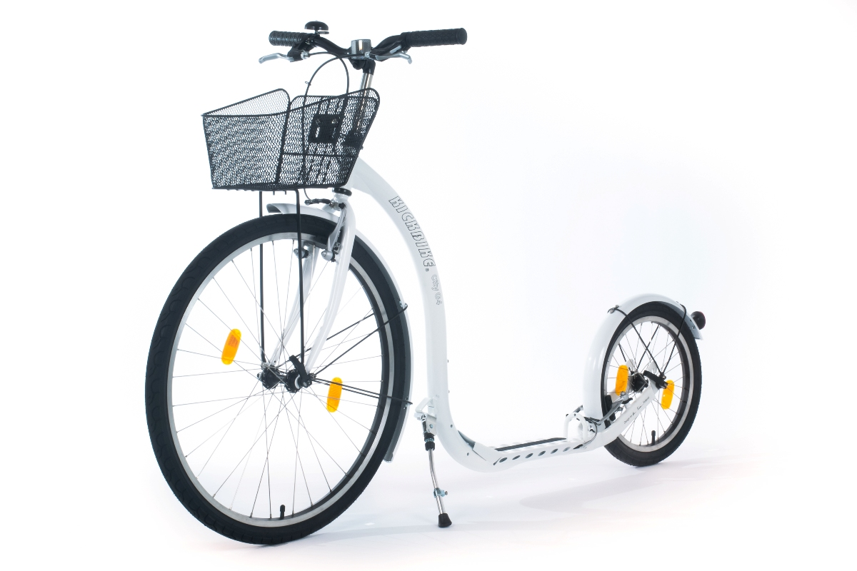 kickbike city g4 tretroller f r erwachsene tretroller f r kurzstrecken. Black Bedroom Furniture Sets. Home Design Ideas